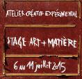 Stage art + matière
