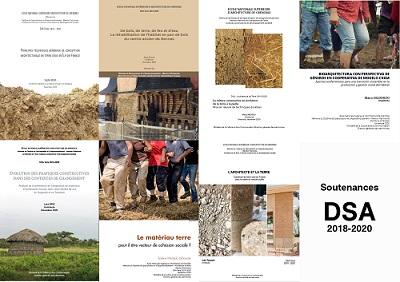 Soutenance de DSA-Architecture de terre, promotion 2018-2020