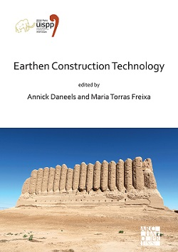 Parution // Earthen Construction Technology, Proceedings of the XVIII UISPP World Congress (4-9 June 2018, Paris, France)